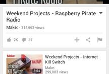 Raspberry Pi Projects + Other Projects