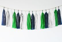 Nautical sailboat birthday party / Nautical blue and green sailboat party / by Leslie Keener