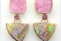 druzy quartz jewellery
