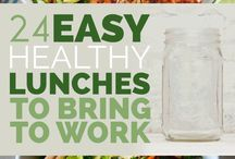 Healthy work lunches