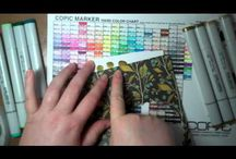 Papercraft - Copic Markers