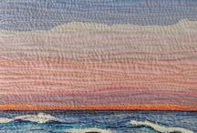 Textiles. Mar. Sea, Beach