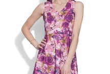 Cotton Printed Dress- Women / You can show everyone your wild and glamorous sides with our collection of printed dresses. They can be found in an endless variety of styles, silhouettes and color combinations.