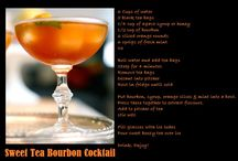 Cocktail Hour / A few favourite cocktail recipes