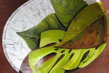 Pintura em madeira Brasil