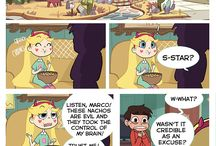 Svtfoe comics / Warning! The following comics are not mine! They belong to another artist! I pin them so to you enjoy them. I may can't find the parts sometimes, so some of them are not in the right order.