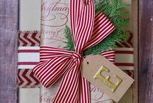 Christmas Gift Wrapping Ideas / Holiday gift wrapping ideas to inspire your creativity. For the DIYer and MIYer!