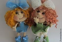 Princess Doll crochet pattern Finished projects LittleOwlsHut / by LittleOwlsHut
