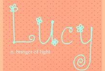 LUCILA / LUCILLA / LUCILLE / LUCY