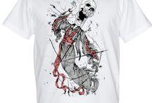 Koszulki z czaszkami