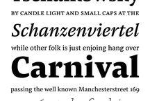 Typefaces: Serif