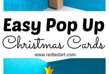 christmas cards pop ups