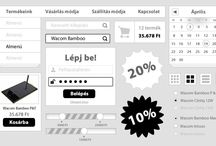 White design / WHITE webdesign by webTrendező / A webTrendező által létrehozott WHITE design alapon nyugvó látványvilág