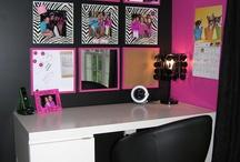 pink and black zebra bedroom decor