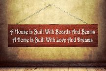 Surround yourself with love & all things positive / Signs/Decor I want hanging on the walls of my home / by Latisha Record