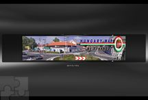 """Euro Truck Simulator 2 Hungary Map by Frank007 v0.9.1 / Egy különleges kiegészítő, amelynek segítségével nem csak Budapesten és Debrecenben, hanem Magyarország 30! településén keresztül vezethetsz, és Budapest is """"sokat változott"""".  Emberek, targoncák, környezeti zajok (pl: légkalapács). Próbáld ki Te is! http://navigyurci.hu/2014/02/26/euro-truck-simulator-2-ujabb-ket-ingyenes-kiegeszito/"""