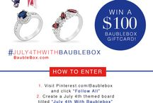 July 4th with Baublebox / by Valarie Florer