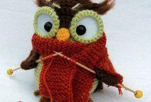 Criss cross crochet birds / by natasja Koekoek