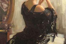 Romantic Figurative Painting