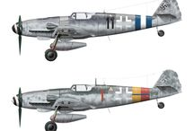 Bf 109 camo & markings