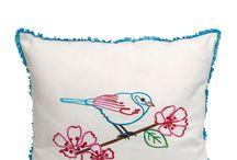 pillows / by Ruqaiyah Saeed