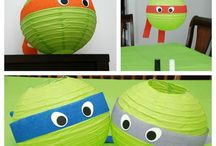Teenage Mutant Ninja Turtles / My boys love TMNT, so I know I'll be doing parties and gifts in this theme!