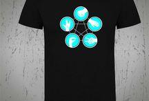 Camisetas de Cine y Series / camisetas personalilzadas de series y peliculas de cine, lleva a los personages de tus series e identificate con tus peliculas favoritas
