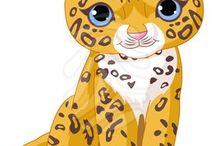dessin bébé tigre