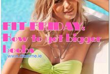 Exercise & Motivation  / Fitness tips!  NEW article every Friday on my blog for FIT FRIDAY: www.ditatime.ie