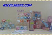 Cositas personalizables / Bibis, Chupetes, Cadenitas, Cepillos de dientes, Cajitas guarda chupetes, Sonajeros, Cepillos y peines, incluso etiquetitas para su ropita.