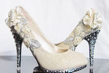 ♥ Wedding Shoes! / One of the most important bridal accessories!  Great for pictures, adding color, and triggering memories.  Gorgeous is great but we also recommend wearable ones for later in the evening, such as Ballroom Dance Shoes (pretty AND comfortable), ballet flats, or flip-flops - it is a looong day for your feet!  http://www.pinterest.com/dsbweddingguru/ / by Spokane Wedding Guru Consulting