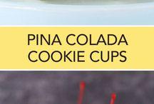 pina colada cookies