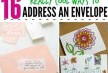 Stationery and Snail Mail / Forget email! Try sending a handwritten letter instead.