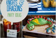 Knight & Dragon party