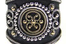 Black Silver Rings