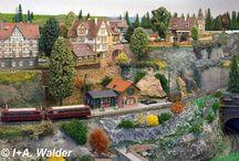 Modelove železnice