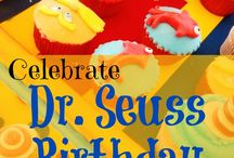 Dr. Seuss Birthday / Celebrate Dr Seuss birthday with Dr Seuss party food & educational activities for kids