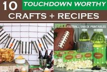 Superbowl/Tailgating Ideas / by Cheryl {thatswhatchesaid.net}