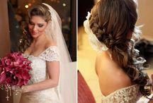 Hair Wedding / Hairstyles for brides / by Monique Elen