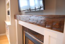 MANTELS / Enhancing the beauty of the fire with mantels.