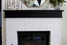 Winter Mantels / beautiful mantel displays for the holidays and winter season