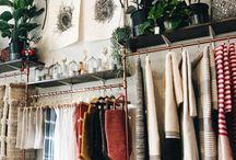 a girls closet