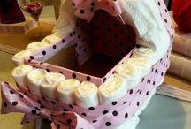 cadeau de naissance / #idées cadeaux naissance# #cadeau# #naissance# #couche# #bouquet# #gateau de couche# #bouquet# #bouquet de couche# #bouquet d'habits#