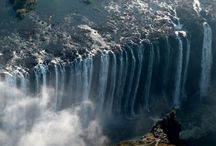 Favorite Places & Spaces / would love to visit Victoria falls.