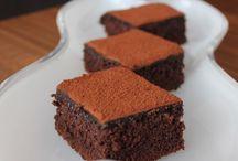Çikolatalı kekler pastalar