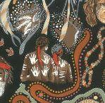 Australiana Printed Fabrics / Patchwork Fabric Swatches