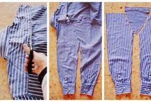 штанишки из рубашки