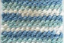 Dish & Wash Cloth crochet items