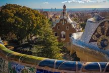 Park Guell, Barcelona, Spain / A visit to Park Guell in Barcelona. Designed by Gaudi, it's fabulously weird!