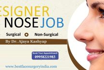 Rhinoplasty Surgery Cost in Delhi - Nose Reshaping in Delhi, India / #nose, #nosesurgery, #nosereshaping, #rhinoplasty, #nosejob, #surgeon, #cost, #price, #Delhi, #India